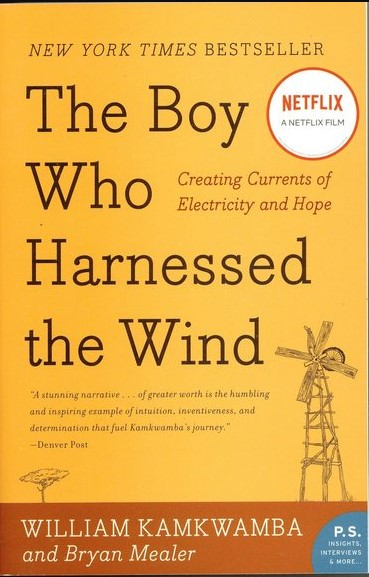 Bokrecension på nätet av The Boy who Harnessed the wind av William Kamkwamba och Bryan Mealer